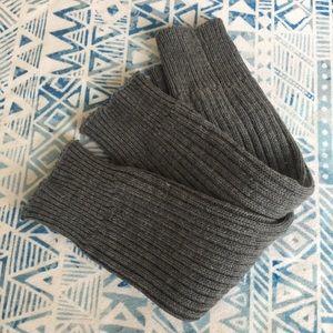 Gray Knit Legwarmers